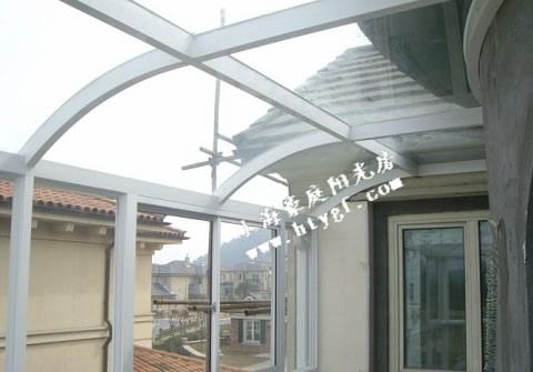 纯铝结构阳光房